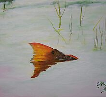 Mike's Redfish by Georgie McNeese