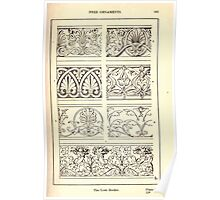 A Handbook Of Ornament With Three Hundred Plates Franz Sales Meyer 1896 0179 Free Ornaments Link Border Poster