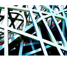 """Bird's Nest"", Olympic Stadium, Beijing, China Photographic Print"
