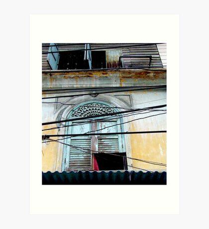 """Decayed Dimensions"", Bangkok, Thailand Art Print"