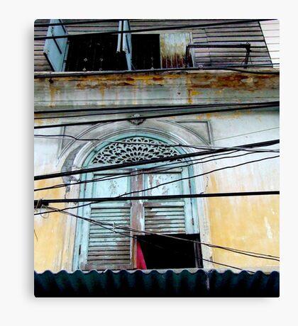 """""""Decayed Dimensions"""", Bangkok, Thailand Canvas Print"""