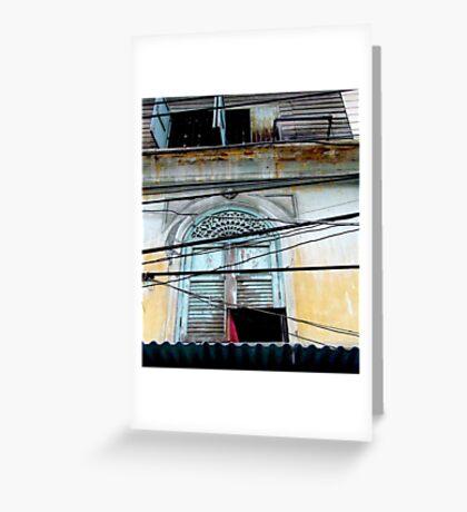 """""""Decayed Dimensions"""", Bangkok, Thailand Greeting Card"""
