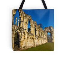 Ruins of St Mary's Abbey  -  York #3 Tote Bag