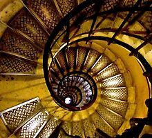 """The Downward Spiral"", Paris, France by Jennii Booth"