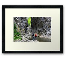 Facing The Giants Framed Print