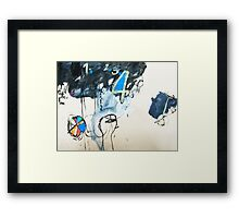 problem solving Framed Print