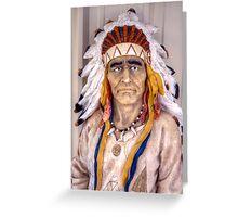 Buffalo Ranch Chief Greeting Card