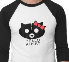 Hello Kinky! Men's Baseball ¾ T-Shirt