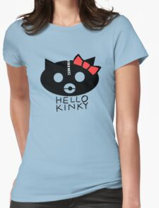 Hello Kinky! Womens Fitted T-Shirt