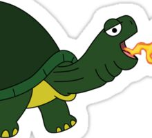 Hot Tortoise! Sticker
