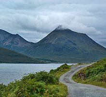 Mountains on Skye from Rassay coast by Panalot
