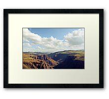 Maletsunyane River Framed Print
