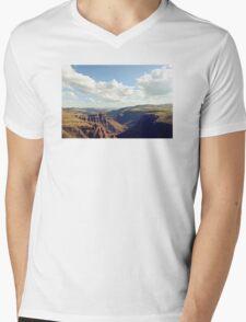 Maletsunyane River Mens V-Neck T-Shirt