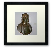 Sculpture of Raphael as a Young Man.  Framed Print