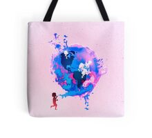 Bubble Earth Tote Bag