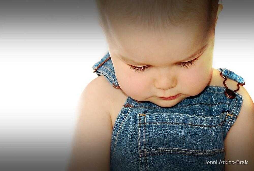 Chubby cheeks... by Jenni Atkins-Stair