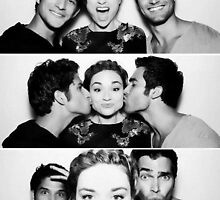 Tyler Posey, Crystal Reed and Tyler Hoechlin by alimaric