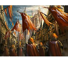 The Knight's Homecoming  Photographic Print