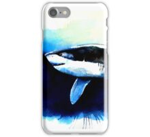 Abstract Shark Painting iPhone Case/Skin