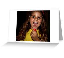 Redball Greeting Card