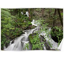 Wet Weather Cascades II Poster