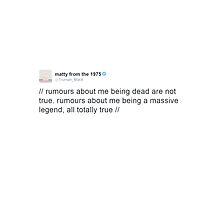 Matty Healy Tweet by coobi