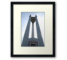 Quezon Memorial Circle monument 3 Framed Print