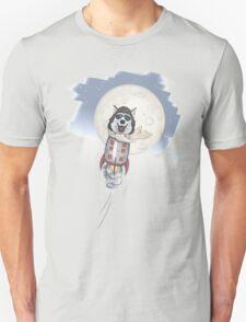 Funny husky pilot T-Shirt