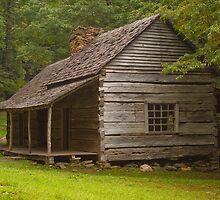 "Noah ""Bud"" Ogle cabin by Rick Montgomery"