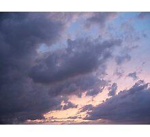 Springtime Sunset Photographic Print