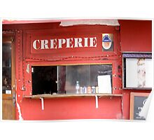 Sacre Coeur Creperie Poster