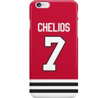 Chicago Blackhawks Chris Chelios Jersey Back Phone Case iPhone Case/Skin
