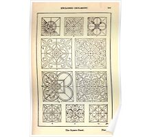 A Handbook Of Ornament With Three Hundred Plates Franz Sales Meyer 1896 0267 Enclosed Ornament Square Panel Poster