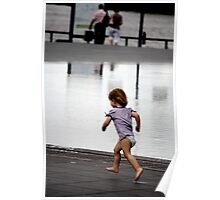 Child at Play in Bordeaux Poster