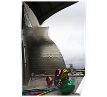 Guggenheim Bulbs Poster