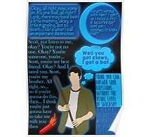 Stiles Stilinski Quotes Poster