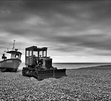Beached at Aldeburgh, Suffolk by DaveTurner