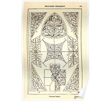 A Handbook Of Ornament With Three Hundred Plates Franz Sales Meyer 1896 0291 Enclosed Ornament Various Panel Poster
