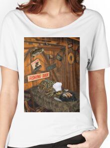 MY NEW SLOW COOKER...FUN PICTURE-JOURNAL-PILLOW-TOTE BAG-MUGS-ECT...ECT... Women's Relaxed Fit T-Shirt