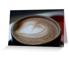 Universal Coffee Language Greeting Card