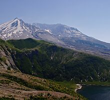 Mount St. Helens Transformed by Olga Zvereva