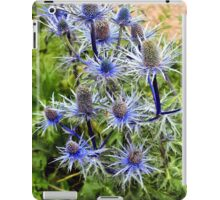 The splendour of sea holly iPad Case/Skin