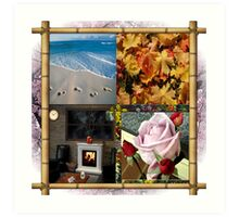 4 Seasons Art Print