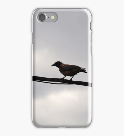 The Black Wire iPhone Case/Skin