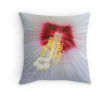 White Lace © Throw Pillow