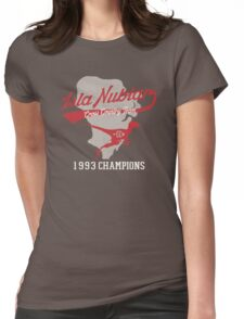 Isla Nublar CC Team Womens Fitted T-Shirt