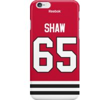Chicago Blackhawks Andrew Shaw Jersey Back Phone Case iPhone Case/Skin