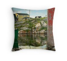 Maragret & Kristy Throw Pillow