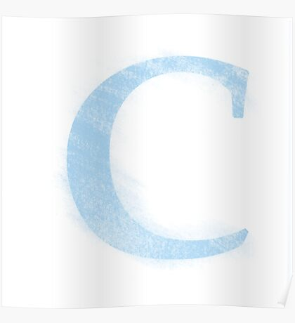 Letters - C Poster