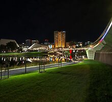 Adelaide Riverbank at Night VII by Ray Warren
